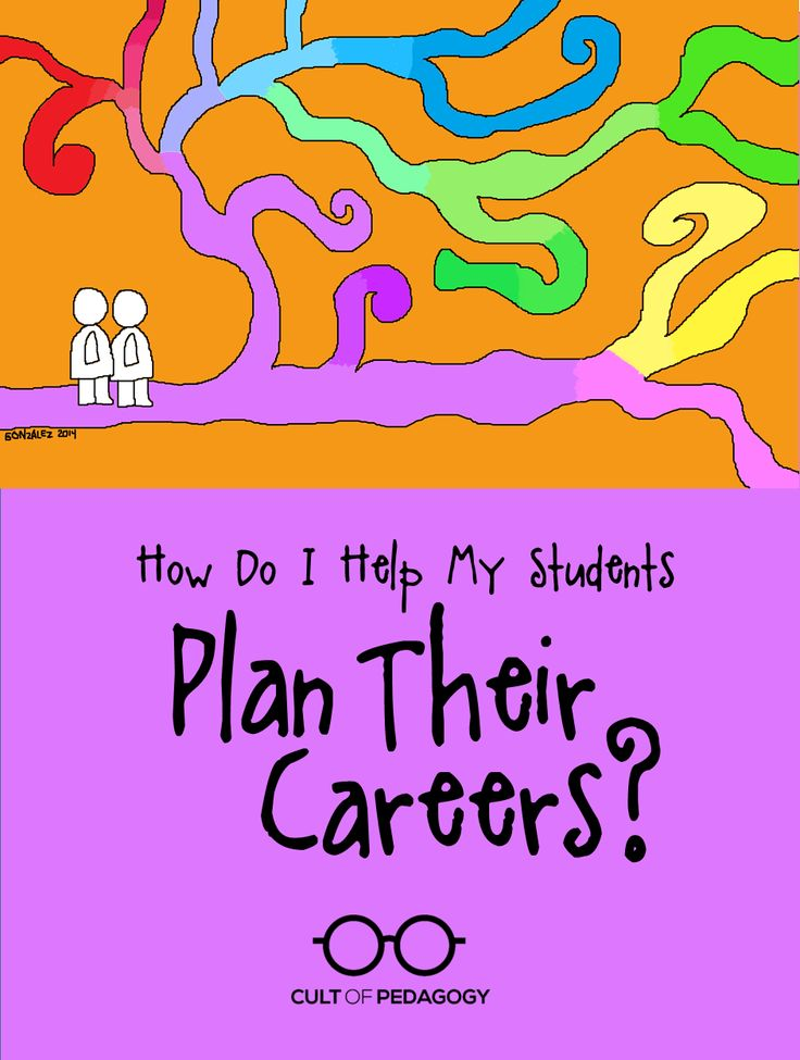 How Can I Help My Students Plan Their Careers? | Cult of Pedagogy