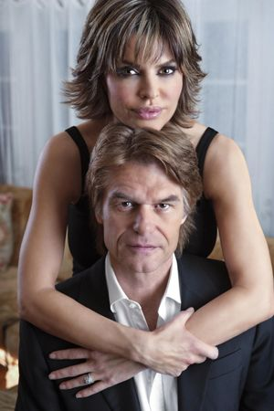 lisa rinna and harry hamlin -married in 1997.They have two daughters, Delilah Belle (born June 10, 1998) and Amelia Grey (born June 13, 2001