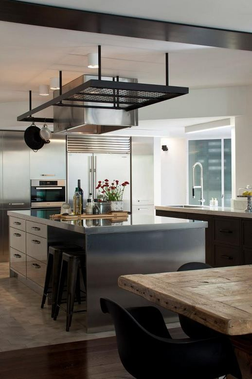 Chic modern kitchen