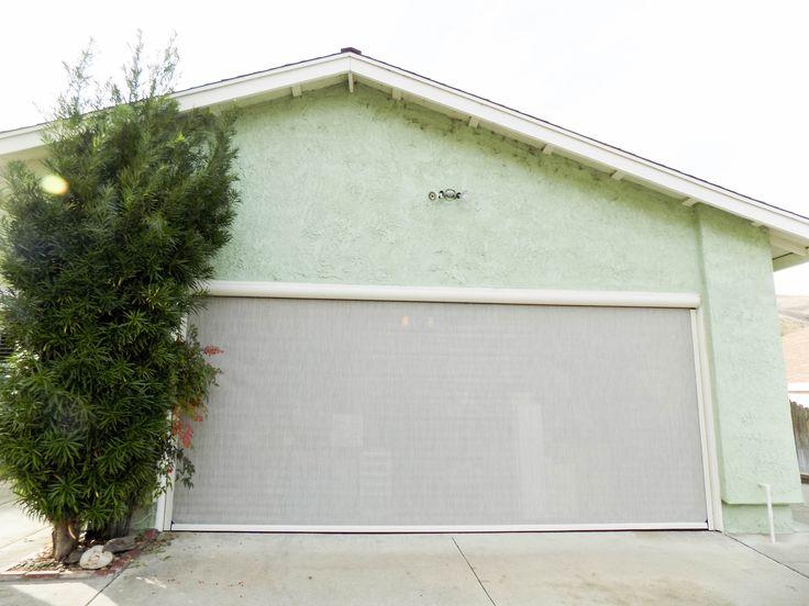 Put An End To Leaving Your Garage Door Cracked Open For Ventilation Making It Susceptible To Lizards Snak In 2020 Rancho Palos Verdes Garage Doors Garage Screen Door