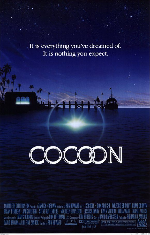 Cocoon - Movie Posters - oh my god  ...my film predilet ...fantastic poster ... very nice ... thanks isamar Luevanos...thanks thanks thanks...