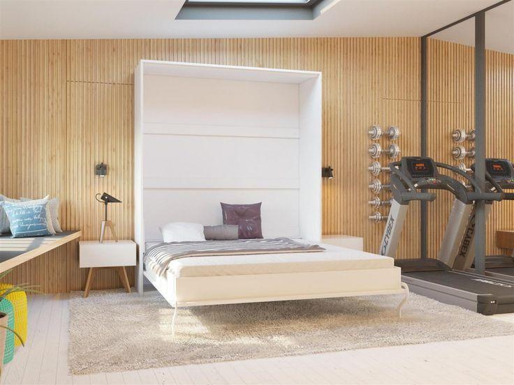 Schrankbett Smartbett murphy bed 160x200 cm #interior, #bed #furnituredesign #furniture