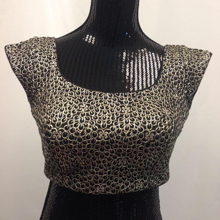 Designer Embroidery Blouse - Black