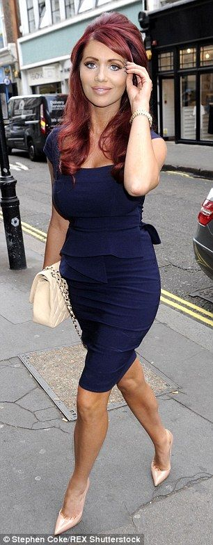 The Only Way Is Essex star Amy Childs became famed for her tangerine glow