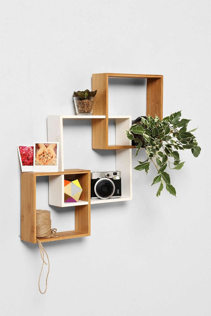 Bamboo Step Wall Shelf - Urban Outfitters