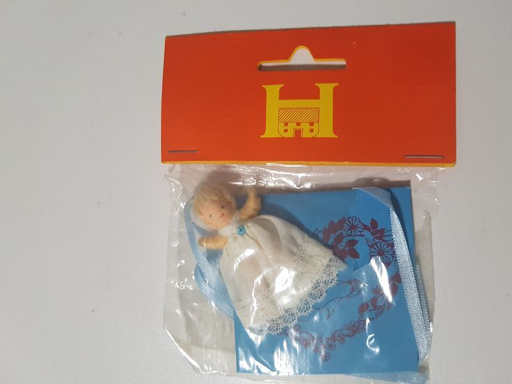 HALFPENNY POCKET DOLL IN PACKET HALFPENNY HOUSES TOY ! | eBay