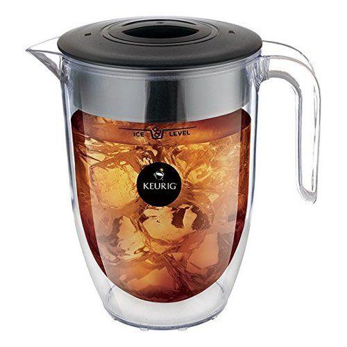Iced Coffee Maker Keurig : Keurig Brew Over Ice Pitcher Keurig http://www.amazon.com/gp/product/B00KYU3EL8/ref=as_li_tl?ie ...
