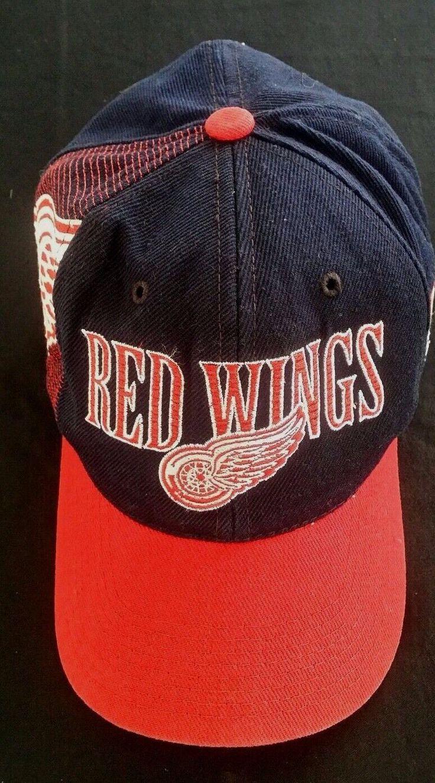 Detroit red wings Vintage 90s Sports Specialties Hockey NHL snapback