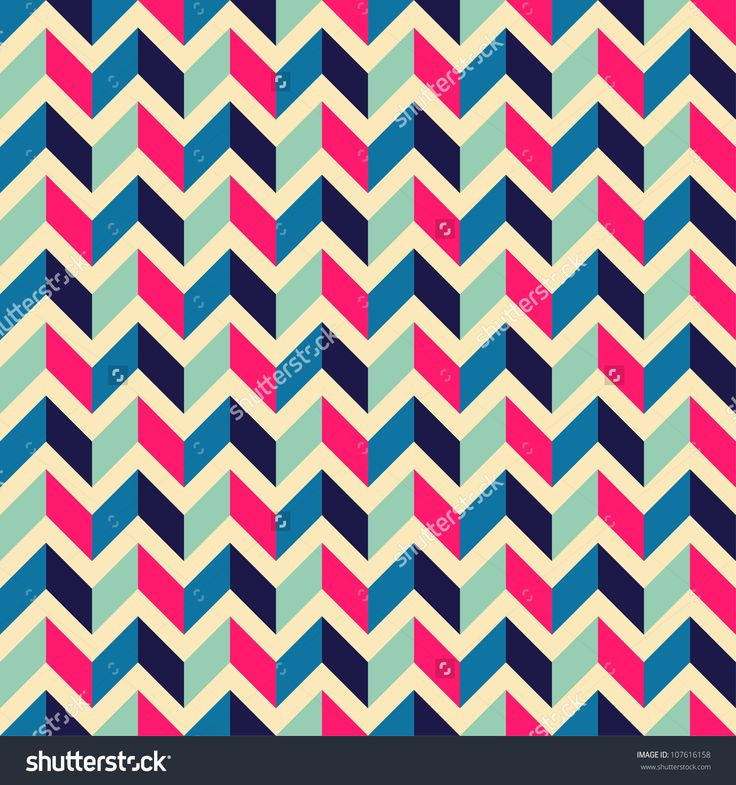 Seamless geometric pattern with zigzags. Can be used in textiles, for book  design, website background - buy this stock vector on Shutterstock & find  other ...