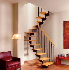 Résultats de recherche d'images pour « escaleras madera y hierro poco espacio »