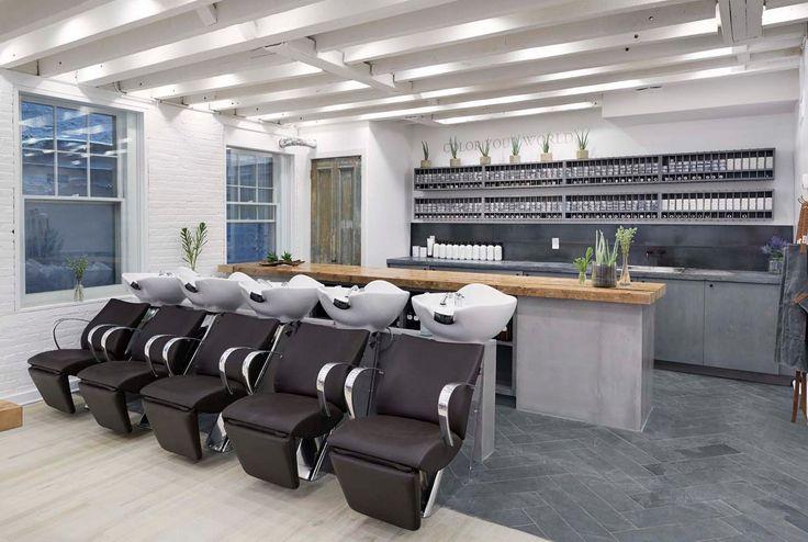 Rendering salone parrucchiere