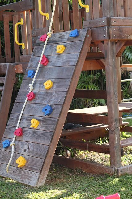 DIY- Wood Staining a Kids Swing Set | Livin' the Mommy Life
