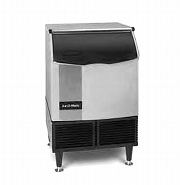 Ice-Maker-wBin-cube-style-undercounter-approximately-171-lb-production24-hour by Iceomatic