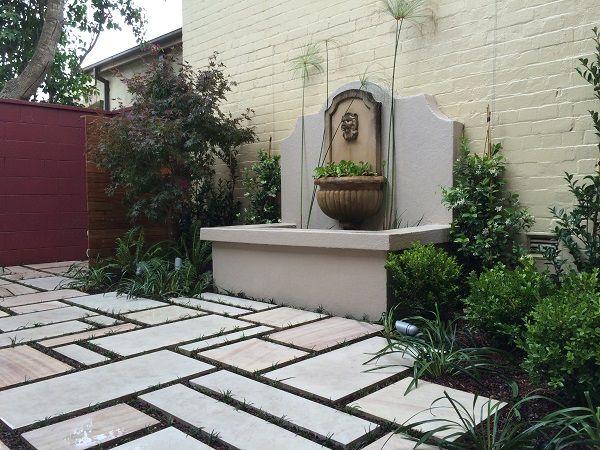 Landscaping small courtyard sydney garden landscaper