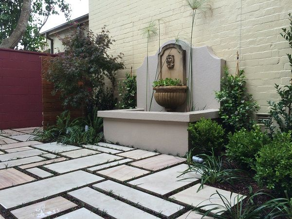 17 best images about modern garden on pinterest for Courtyard landscaping sydney