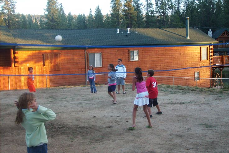 Volleyball at Mallard Bay Resort on Big Bear Lake!