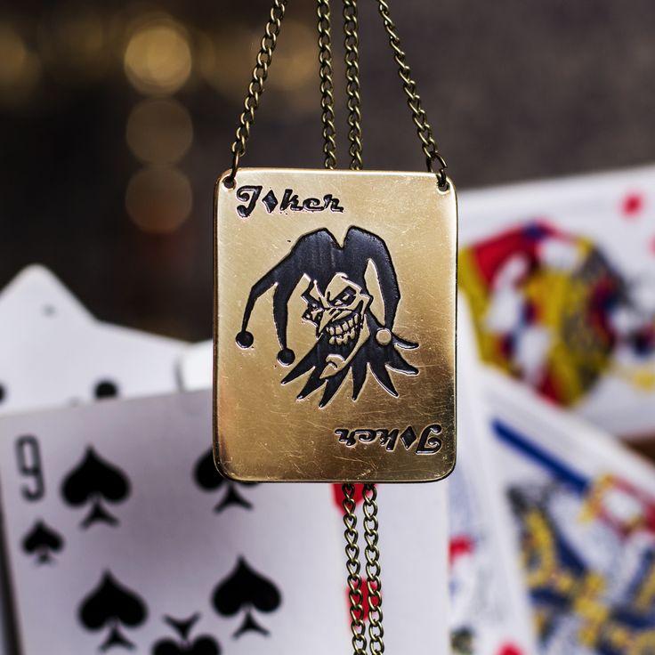 Кулон Харли Квин из игры Инджастис   My site: http://www.timforshade.com  #cosplay #harley #injustice #joker #pendant #quinn #amulet #harleyquinncosplay #harleyquinnjoker #harleyquinnquinn #кулон #амулет #инджастис #косплей #джокер #латунь #timforshade