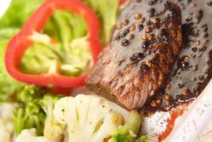 Top round steak is best served with sauce, to add extra moisture and flavor.