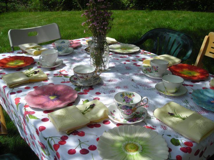 garden themed birthday party ideas of garden tea party theme amazing