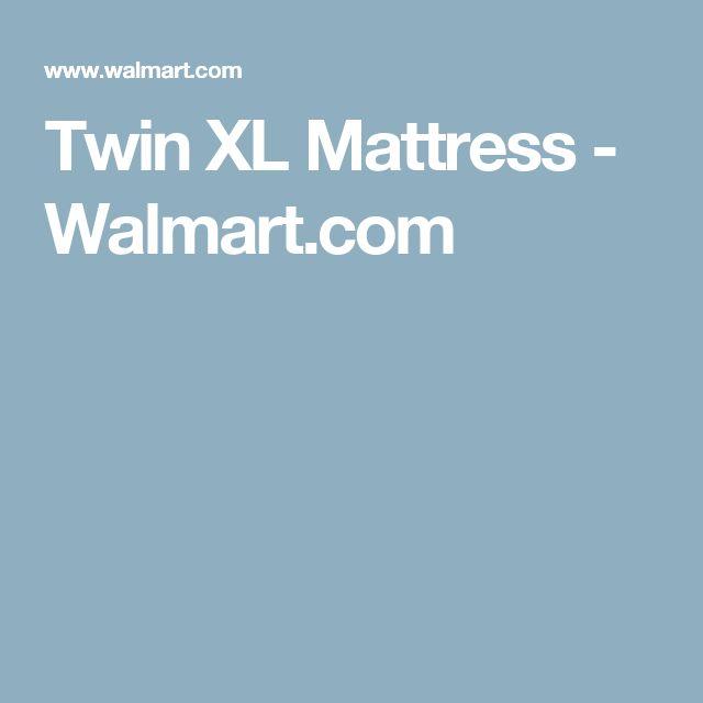 Twin XL Mattress - Walmart.com