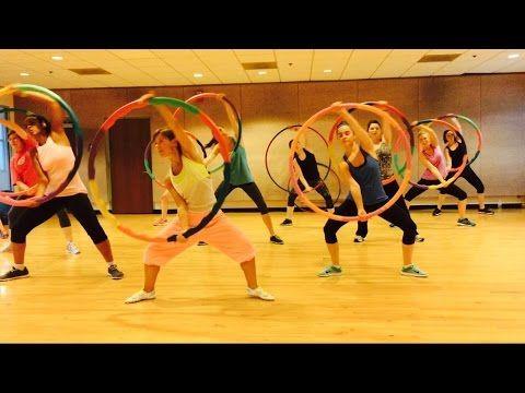 """HEY MAMA"" David Guetta ft Nicki Minaj - Dance Fitness Workout w/ Weighted Hula Hoops Valeo Club - YouTube"