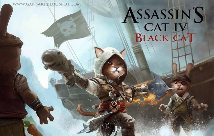 Assassins Creed Cats | Humour & Sacrilèges - Assassin's Creed Forever