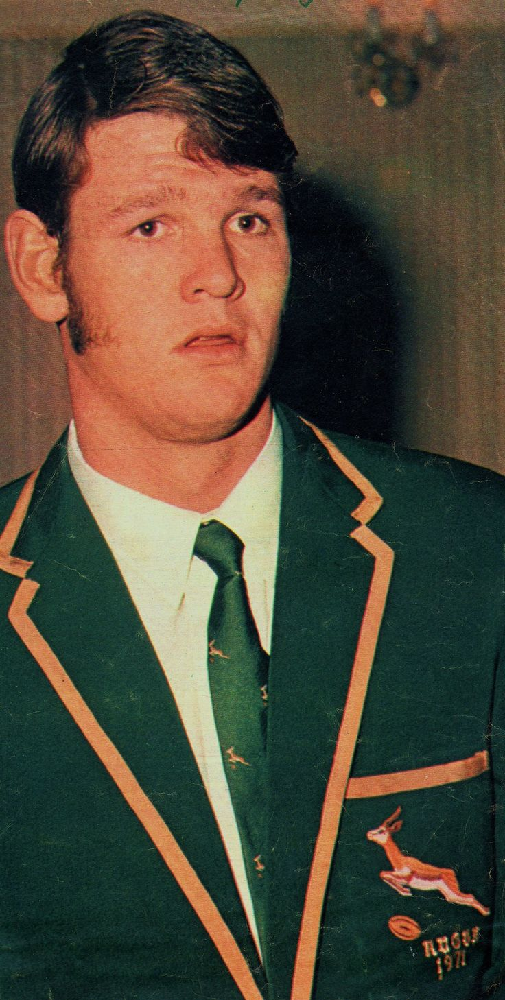 Morne Du Plessis (Agsteman) - 1971 (Mclook rugby collection)