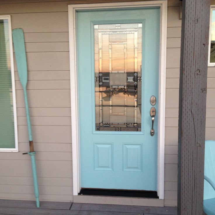 Front Door Behr Ocean Boulevard Our Home It Floats