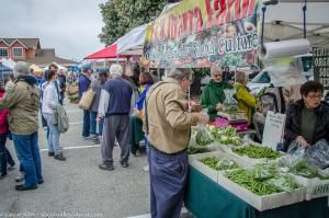 A weekend on the Silicon Valley Coast. Some of the best things to do in Pescadero and Half Moon Bay, California.: The Half Moon Bay Saturday farmer's market