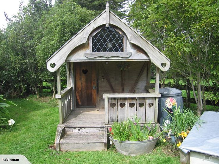 Gorgeous Swiss Chalet Style Playhouse Trade Me Kids