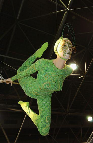 La trapezista, Circus La Rosa Mannequins