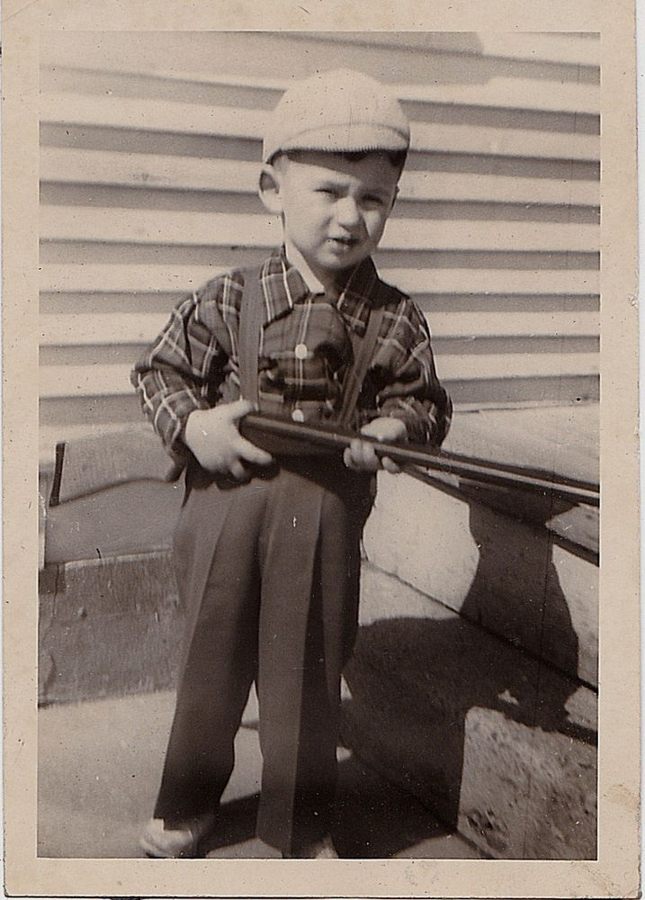 Vintage Kids Books My Kid Loves Koko S Kitten: Antique Photograph Little Boy Wearing Overalls & Hat