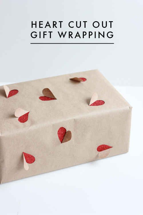 (Or any other shape your lil' heart desires.) | 23 Tricks To Take The Stress Out Of Wrapping Gifts