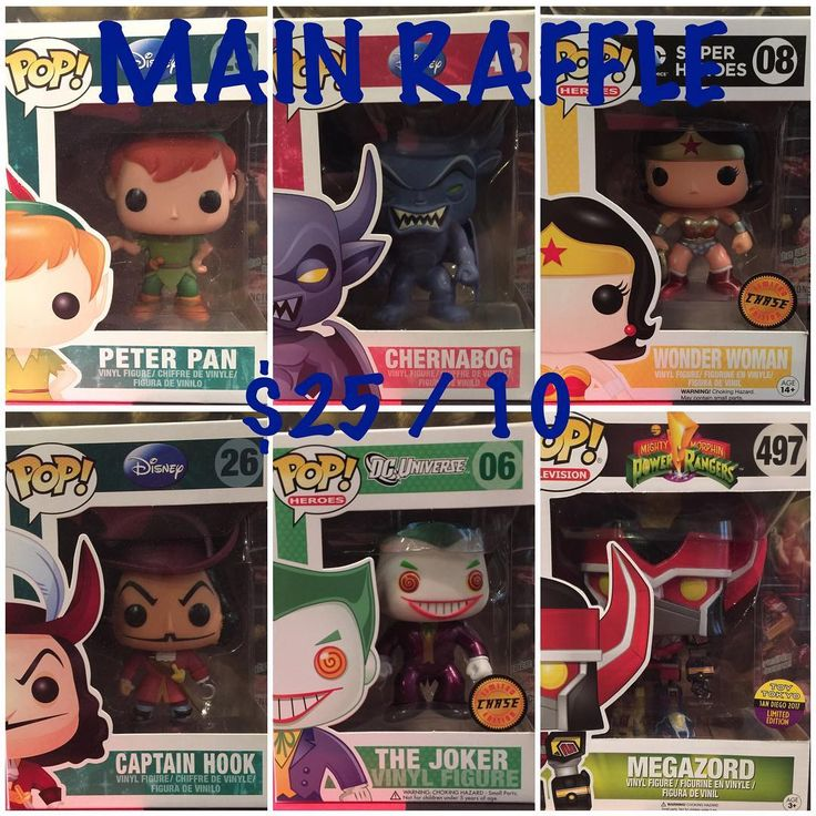 "RAFFLE TIME Winner gets to choose 1 Pop from these choices. $25 per entry 10 spots (no max per person)  Pics available if needed.  1 Comment to claim a number 2 Send $25 to Paypal (kroyxtian@yahoo.com) - Friends and Families Pls or Venmo (@poppopandaway)! Notes can say Lunch Dinner Food or Movie 3 Comment DONE"" after payment 4 When all the spots are filled I'll use a Random Generator website and post the pic to see who's the lucky winner!!! 5 Drawing will be LIVE via IG LIVE (POPPOPANDAWAY)…"