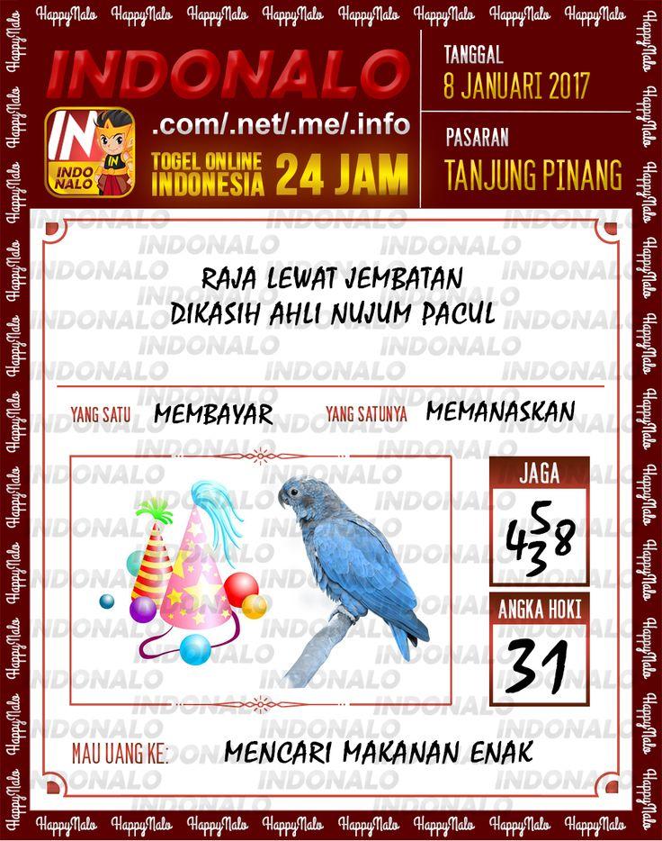 Kode Jaga 4D Togel Wap Online Live Draw 4D Indonalo Tanjung Pinang 8 Januari 2017