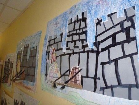 Ecole maternelle Barbier - Grands : les châteaux-forts