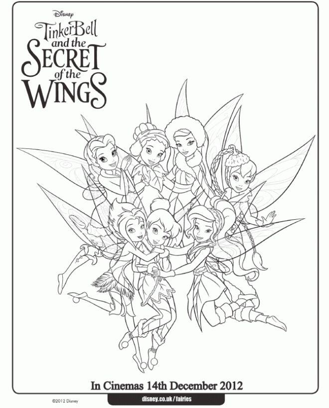 Disney Secret of the Wings Winter Fairy Free Printables ...