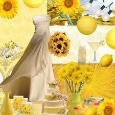 yellow themed wedding - Google Search
