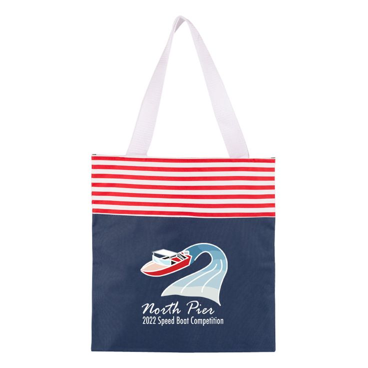 TTB193F - Full Color Coast Tote Bag #beach #bag #tote