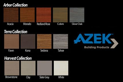 Trex Decking Colors >> azek deck colors - Google Search | Deck Ideas | Pinterest ...