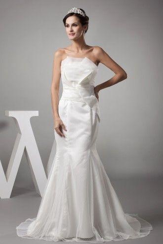 http://fr.trouws.com/robe-de-mari%C3%A9e-c1 A-ligne Robes de Mariée, Robe de mariée trapèze - Trouws.com