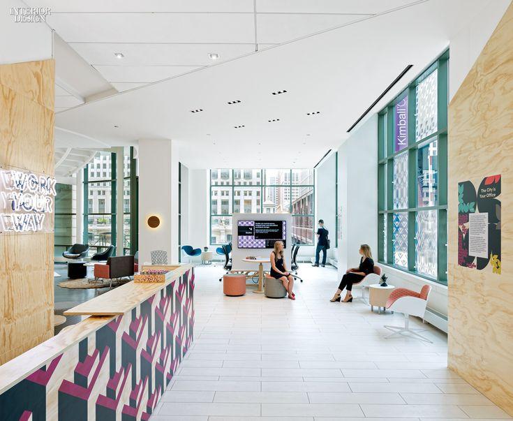 Kimball Office At NeoCon 2015 BoY Winner For Showroom Interiordesign Design