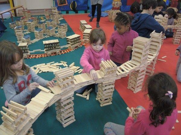 Journée KAPLA, classe 3 MS/GS (13 décembre 2013) - Ecole maternelle Célestin Freinet