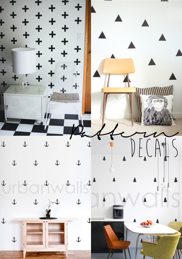 Simplistic Scandinavian Style Wall Decals Easy On Easy
