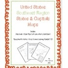 Us Southeast Region States Capitals Maps