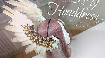 Diy Headdress with Feather , Výroba čelenky s peřím - YouTube
