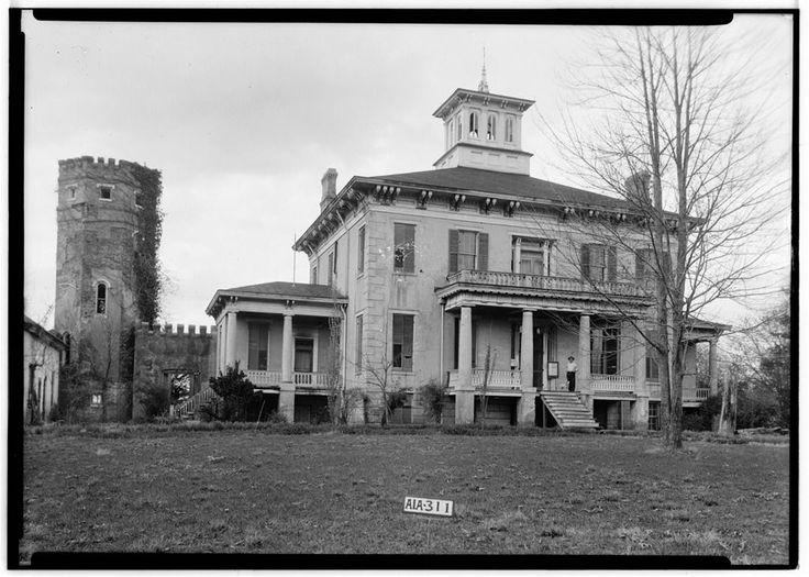 Abandoned Alabama Antebellum Homes   Creek and Courtland, Alabama, United States. Once famed in Alabama ...