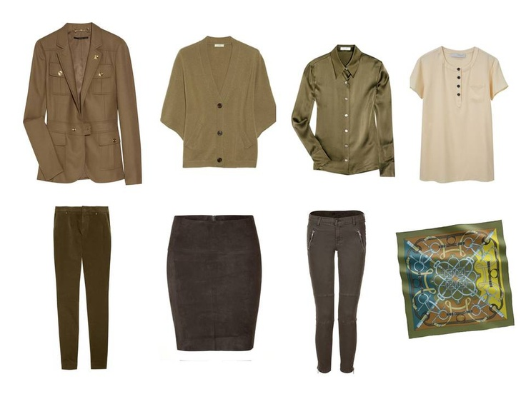 Wardrobe: carefully curated and deliberately distilled for warm coloring | The Vivienne Files