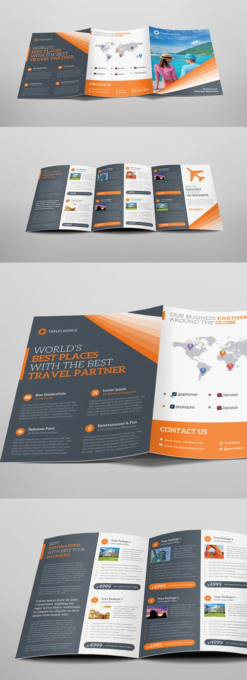 193 Best Brochure Design & Layout Images On Pinterest | Brochure