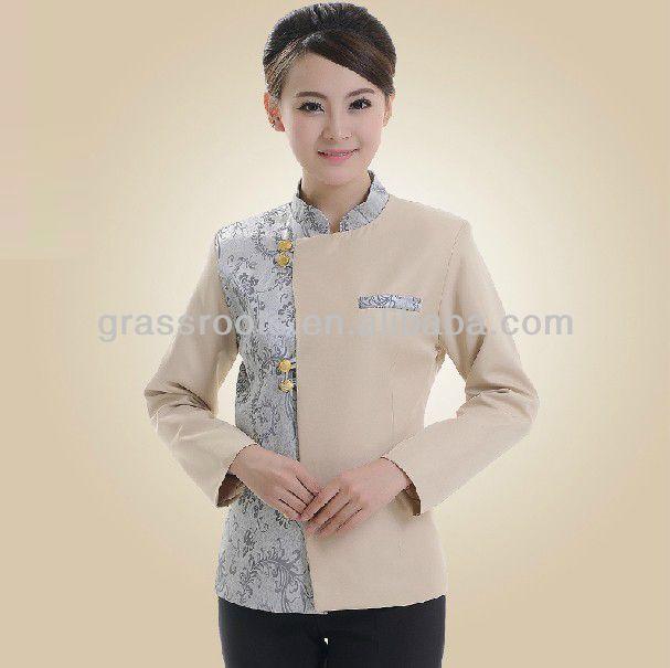 Factory wholesale restaurant uniform, waiter uniform